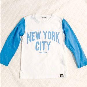New York Toddler Boys Print Long Sleeve